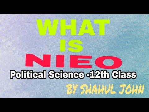 New International Economic Order शीत युद्ध का दौर - नव अंतर्राष्ट्रीय आर्थिक व्यवस्था By Shahul John
