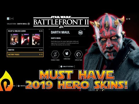 Most Wanted Hero Skins In Star Wars Battlefront 2 thumbnail