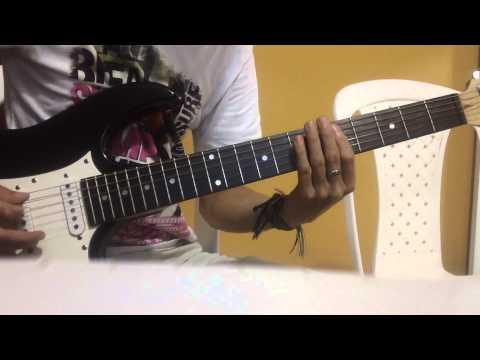 Saratoga - Vientos de Guerra Guitar Cover