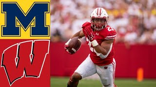 #11 Michigan vs #13 Wisconsin Highlights | NCAAF Week 4 | College Football Highlights