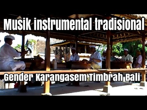 traditional balinese instrumental music @ timbrah