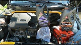 Замена масла двигателя. Честный отзыв о Лукойле синтетика. Ваз 2110-11-12