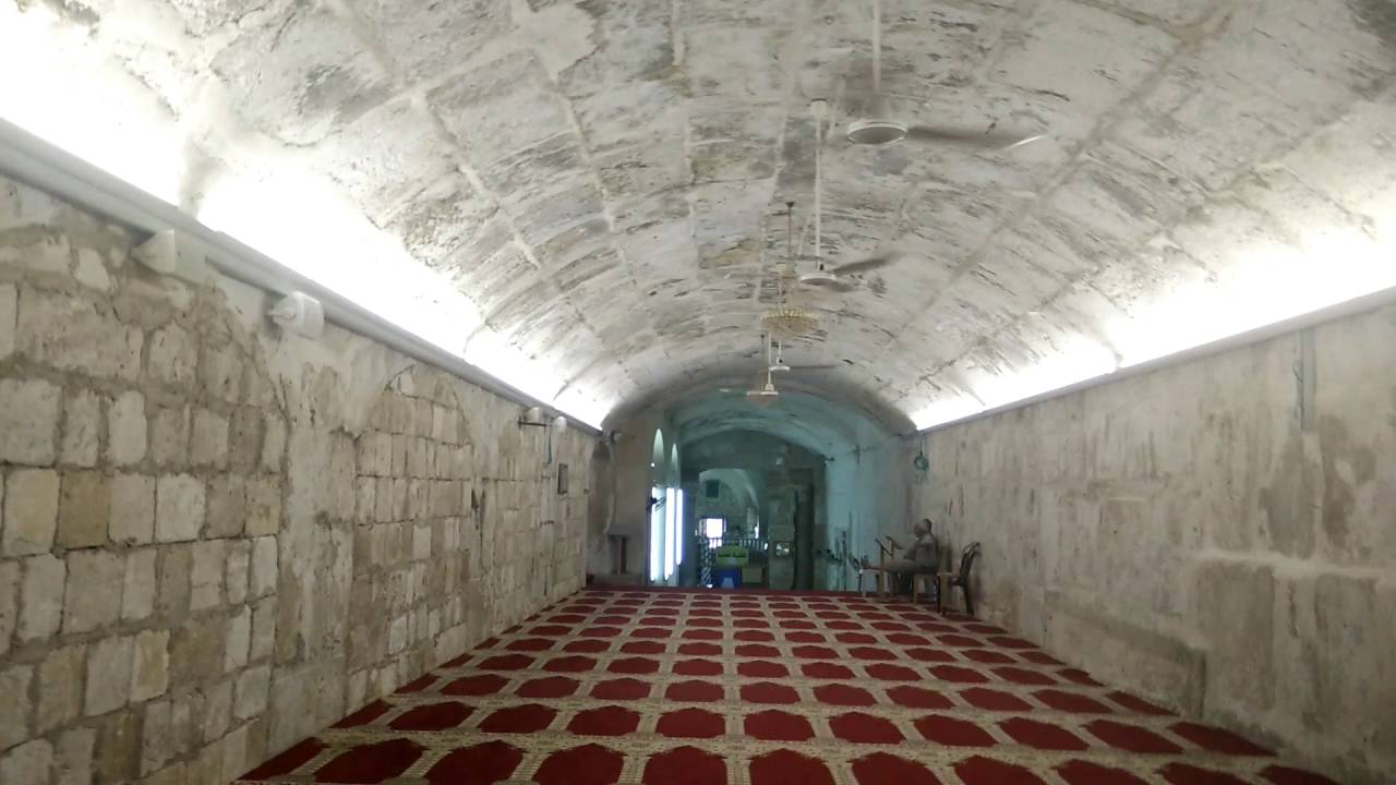 The Original Masjid Al Qibly Masjid Al Aqsa Youtube
