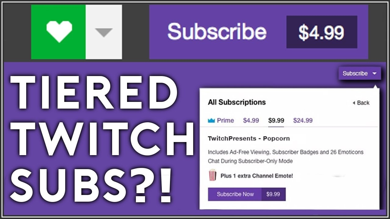 $25 Twitch Subscriptions?! - YouTube
