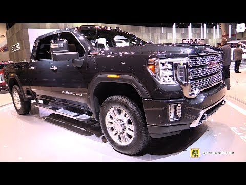 2020 GMC Sierra HD Denali - Exterior and Interior Walkaround - Debut at 2019 Chicago Auto Show