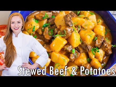 Жаркое - Stewed Beef & Potatoes