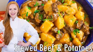 Жаркое - Stewed Beef & Potatoes