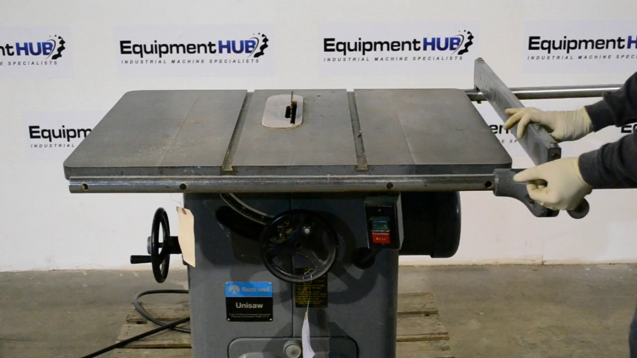 Rockwell Delta 34 466 3hp 10 Table Saw