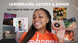 underrated artists you NEED to listen to (pt 2)