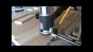 Router Techniques - Dado Jig With Bessey Clamps