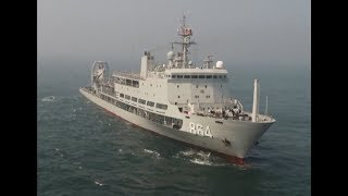 China's Submarine Rescue Vessel Tests Its Rescue, Support Capabilities