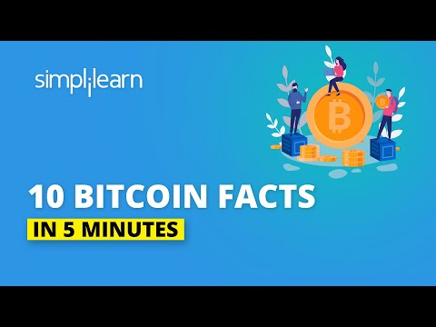 10 Bitcoin Facts In 5 Minutes | 10 Bitcoin Facts That Will Shock You! | Simplilearn