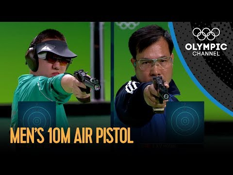 Hoang wins gold in 10m Air Pistol | Rio 2016 Olympic Games