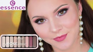 ESSENCE THE ROSE EDITION СВОТЧИ И МАКИЯЖ НОВИНКИ ESSENCE MAKEUP TUTORIAL