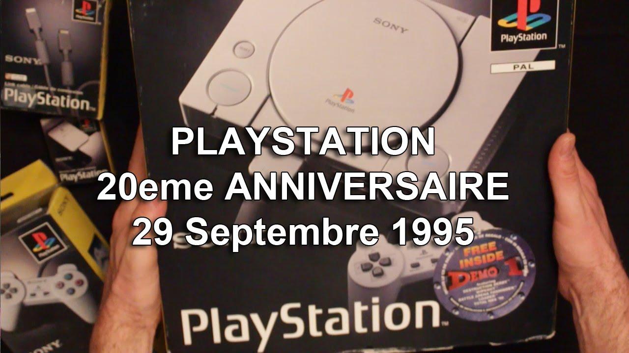 PLAYSTATION - 20eme ANNIVERSAIRE - 29 Septembre 1995