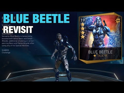 Injustice 2 Mobile | Revisiting Blue Beetle | Review & Gameplay