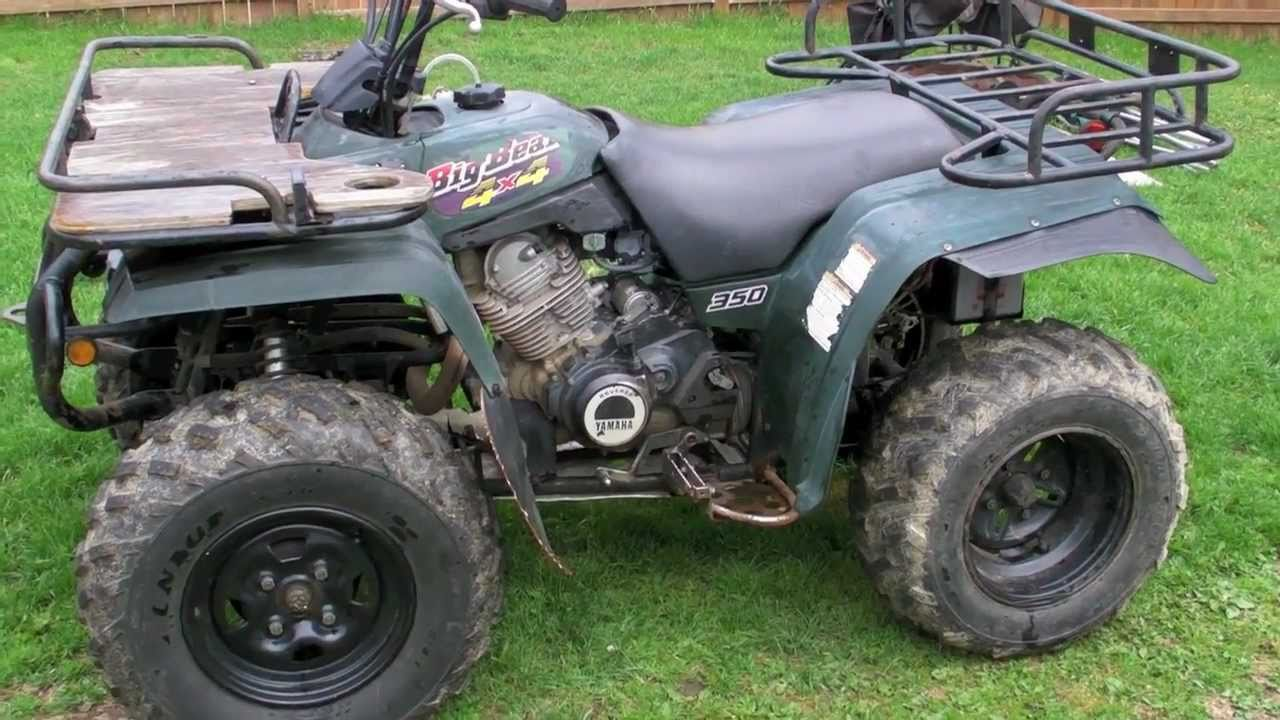 Latest Project 1997 Yamaha Big Bear 350 Part 1 Youtube