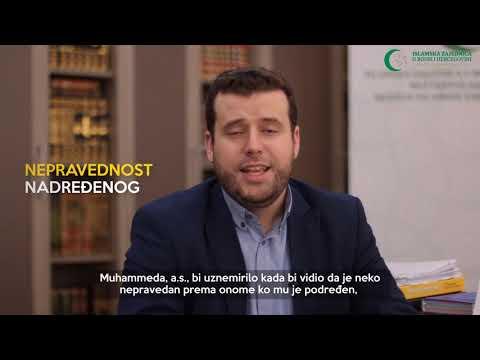 Poziv vjernicima (21) - Zabrana ometanja Resulullaha, s.a.v.s. - hafiz Ammar Bašić