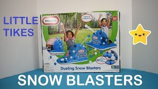 Little Tikes Dueling Snow Blasters