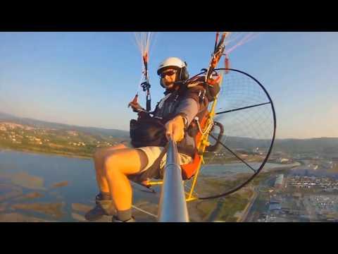 Flying over Koper Slovenia