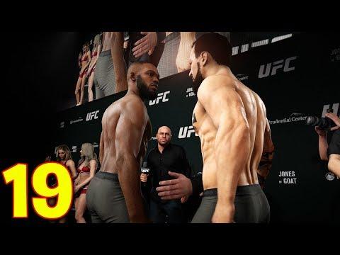 UFC 3 GOAT Career Mode - Rematch Against Jon Jones! EA Sports UFC 3 Gameplay PS4 - Part 19