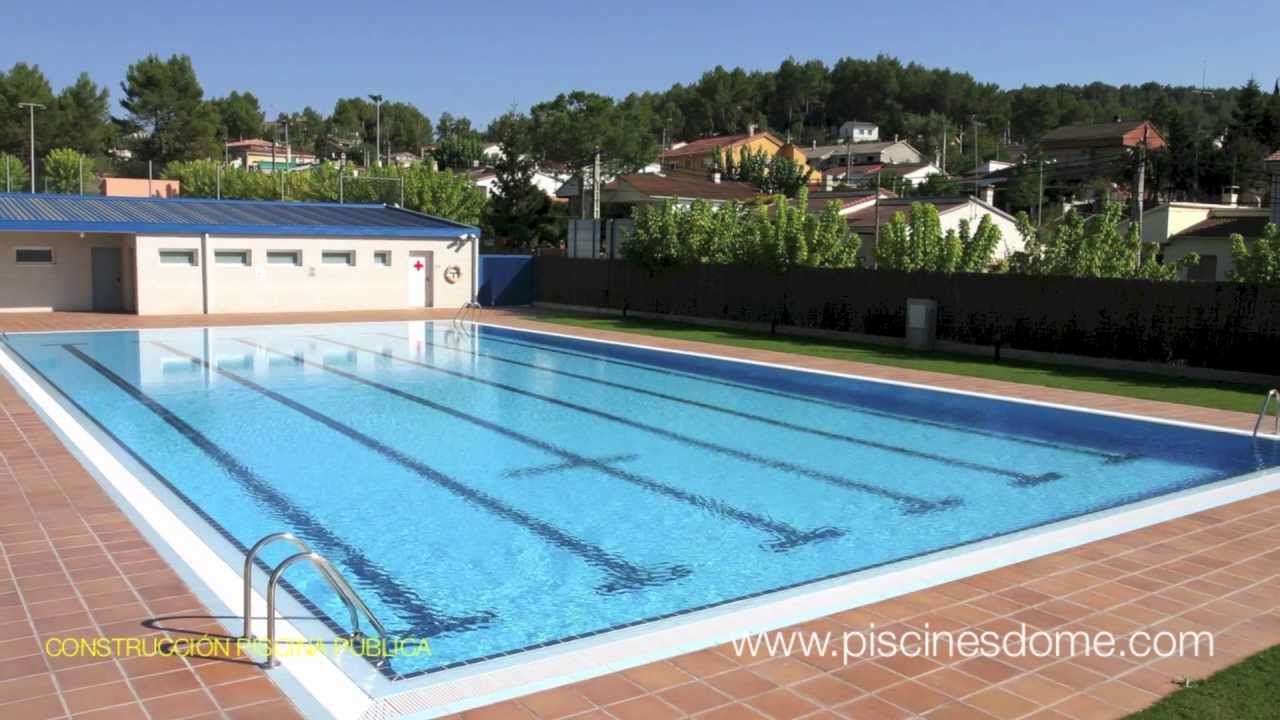 Construcci n de piscinas p blicas y de grandes dimensiones for Ideas de piscinas grandes