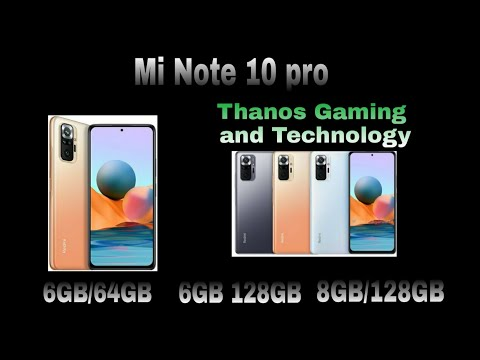 Mi Note 10 Pro    Best Phone    Thanos Gaming And Technology