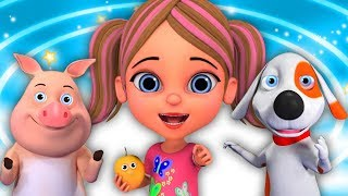 🔴 बालगीत | बच्चों के लिए गाने | Nursery Rhymes For Children | Cartoons For Kids
