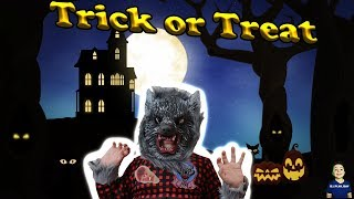 Kid Halloween Trick or Treat Candy Haul! Halloween 2019 || Dj_play_day