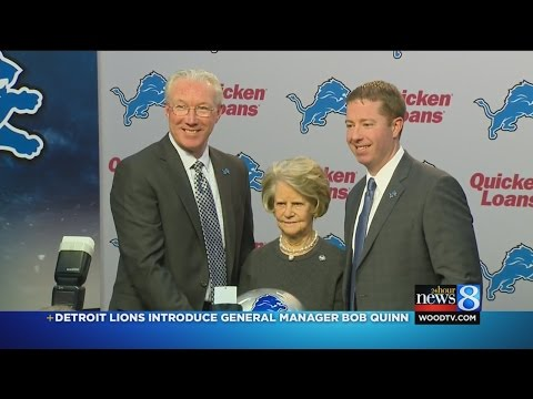 Detrot Lions introduce new GM