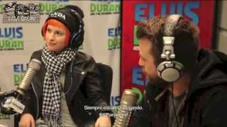 Paramore Interview with Elvis Duran (Subtítulos en Español)