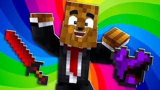 Purple Amethyst Armor and Nightmare God Sword - Minecraft Crazy Craft 3.0 SMP #2 | JeromeASF