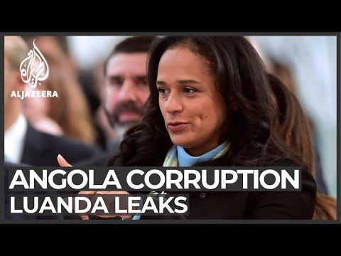 Angola corruption: Leaked