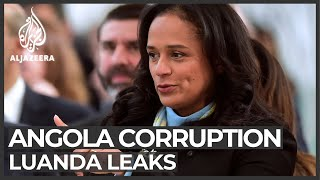 Angola corruption: Leaked documents implicate Africa