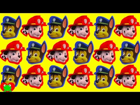Paw Patrol Marshall and Chase Surprises