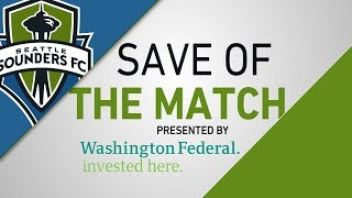Washington Federal Save of the Match: Frei stops Vako's outside of foot attempt