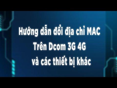 Thay đổi địa chỉ MAC bằng Dcom Huawei ai cũng làm được   Wifishop #Dcom4G #Dcom3G
