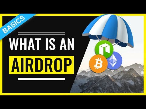 What are Airdrops Cryptocurrencies in 3 MINUTES ⏰ -  Airdrop Explained Crypto ⛱