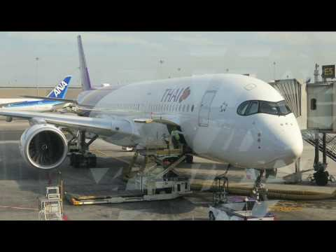 Thai Airways A350 XWB Full Flight Experience: TG409 Bangkok to Singapore