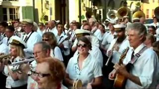 New Orleans Trad Jazz Camp - Second line, part 1