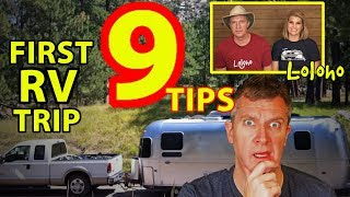 For Beginners: HOW TO MAKE YOUR FIRST RV TRIP A SUCCESS!
