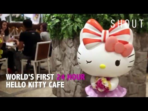 Hello Kitty Orchid Garden: 24-hour Hello Kitty Cafe Opens In Singapore
