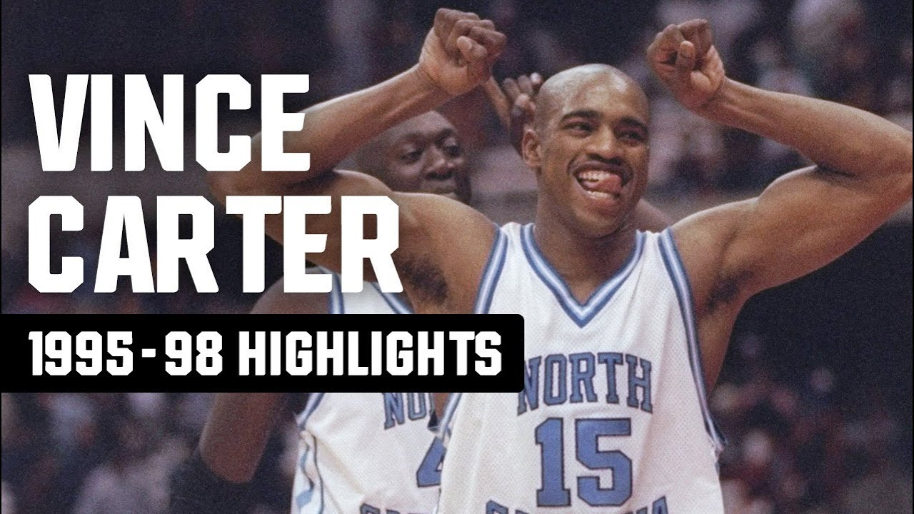 Vince Carter highlights: March Madness top plays