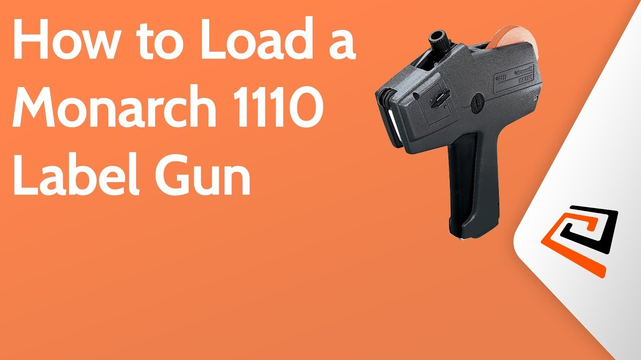 It is a photo of Candid Label Gun How to Load