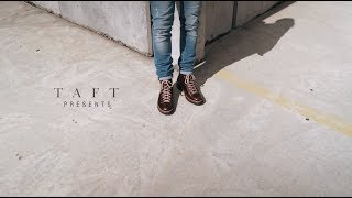 TAFT - The viking boot in brown