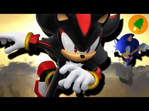 Shadow The Hedgehog is Faster than Sonic!