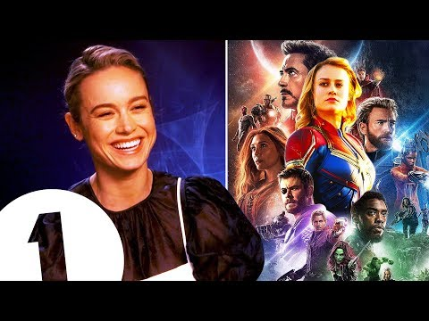 Hi, I'm new!  Captain Marvel's Brie Larson on joining The Avengers WhatsApp group (or not).