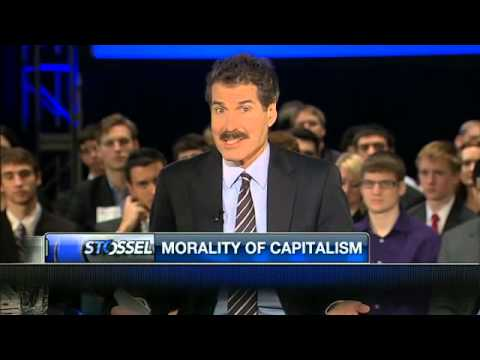 John Stossel - Students For Liberty: A Trip Back To College 3/28/13