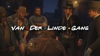 I made a Friends theme for Red Dead Redemption 2 Video