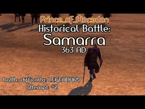 Total War: Attila historical battle - Samarra (Legendary difficulty)
